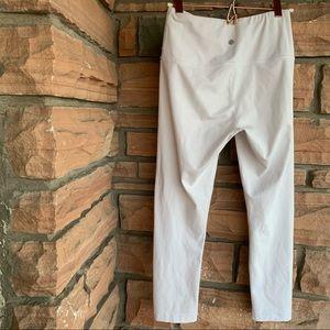 Yogalicious white cropped leggings